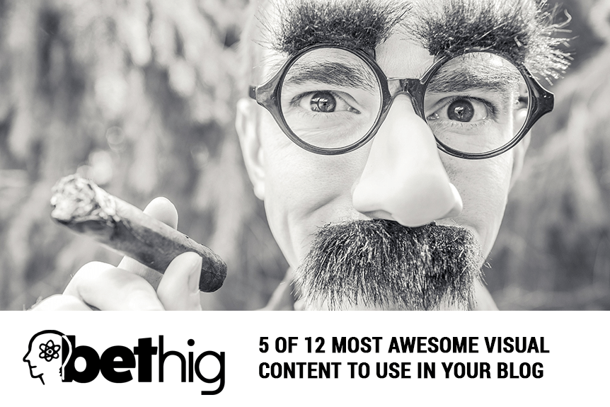 5 of 12 Most Awesome Visual Content To Use In Your Blog