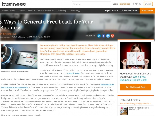 https://www.business.com/articles/three-ways-to-generate-free-leads/
