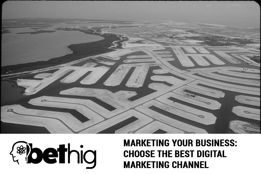 Marketing your business: Choose the best digital marketing channel