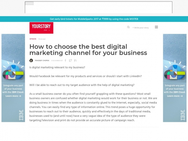 https://yourstory.com/2017/11/choose-best-digital-marketing-channel-business/